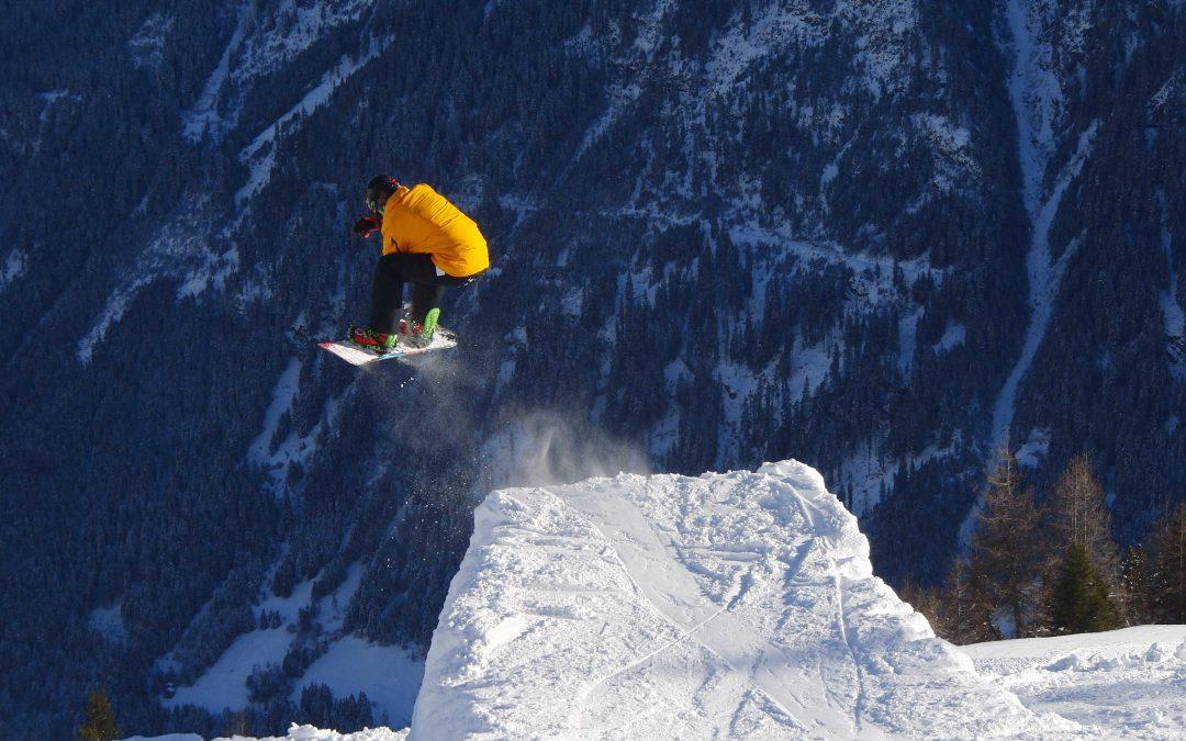 Winter Enduro Training in den Alpen